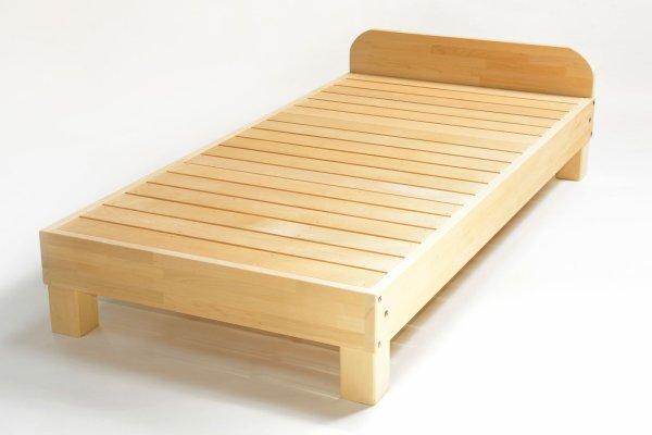 画像1: ヘッドボード付!抗菌・防カビ「ベッド」 (1)