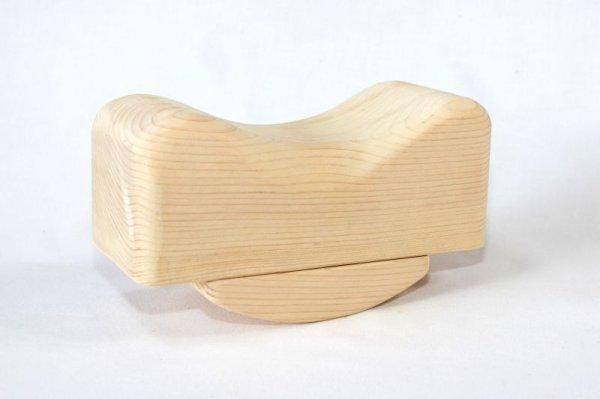 画像1: 贅沢!「木枕」 (1)