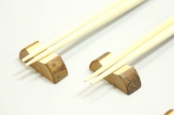 画像1: 箸置き(かまぼこ型)5個セット (1)