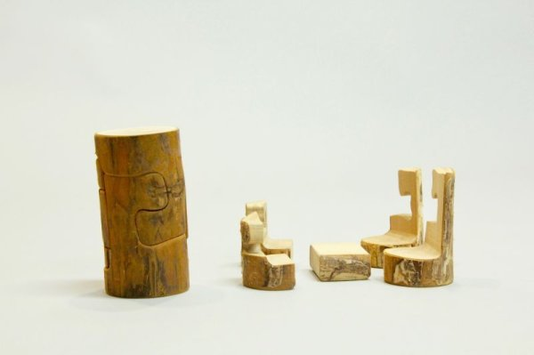 画像1: 青森県型パズル「で木るかな」 (1)